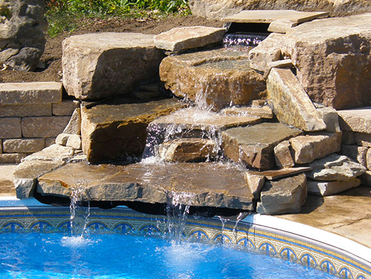 turf pro water features